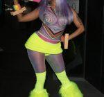 nicki minaj neon outfit 1