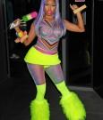 nicki minaj neon outfit 2