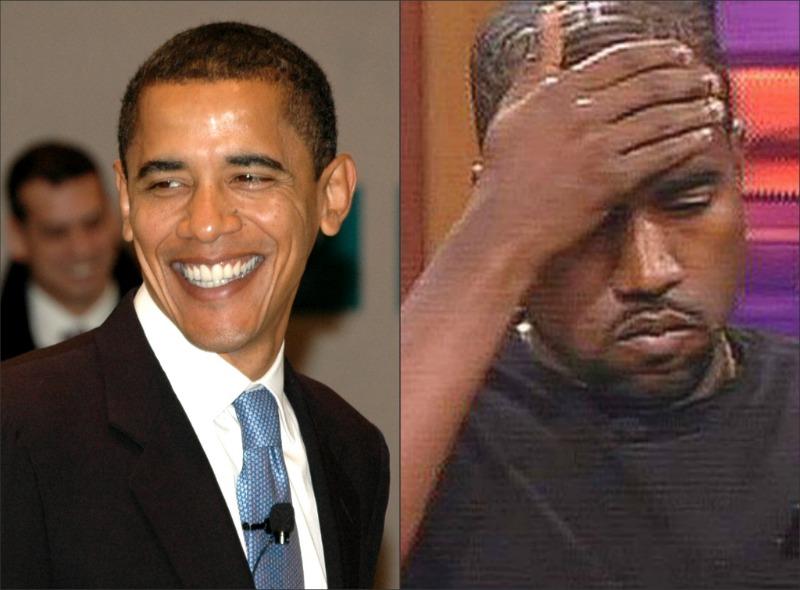 obama and kanye west