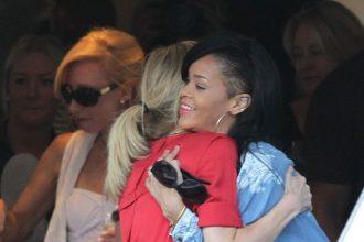 Rihanna And Battleship Castmates Set Sail In Sydney [Photo]