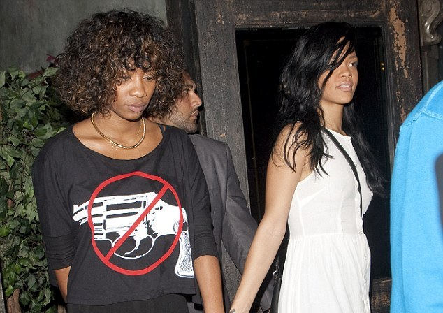 rihanna and melissa forde charity gala 2