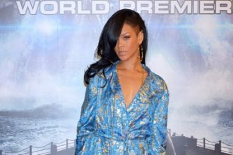 Rihanna Attends Battleship Premiere In Pajama [Photo]