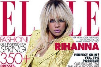 Rihanna Covers Elle Magazine, Talks Chris Brown, Starting A Family [Photo]