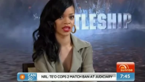 rihanna interview australia