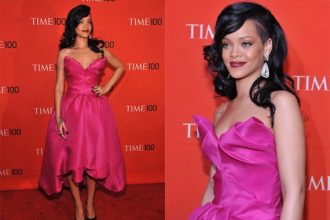 Rihanna Glows At TIME 100 Gala, Performed Bob Marley Song [Photo/Video]