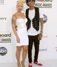 AMBER ROSE AND WIZ KHALIFA bbm 2012