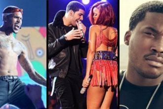 Rihanna Cause Beef Between Chris Brown, Meek Mill & Drake [DETAILS]