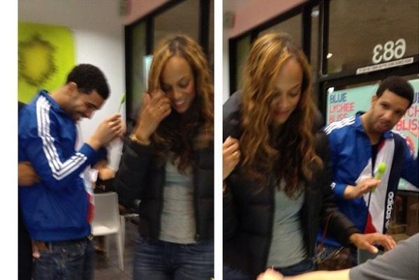 Drake and Tyra Banks dating 2012