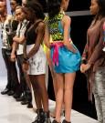 Kesia Estwick's winning dress back view