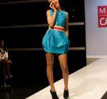 Kesia Estwick's winning dress front view