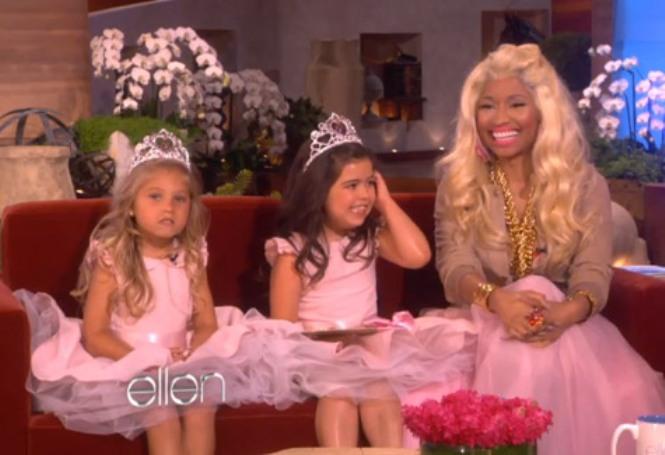 Nicki Minaj and Sophia grace and Rocsie