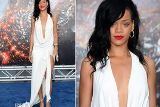 Rihanna Looks Stunning For Battleship Premiere In L.A. [Photo]