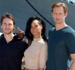 Rihanna Taylor Kitsch Brooklyn Decker and Alexander Skarsgard