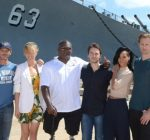 Rihanna and Battleship cast