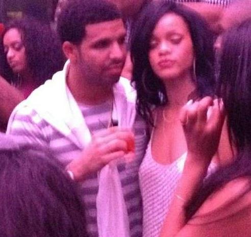 Rihanna and Drake miami
