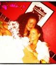 Rihanna and mother monica fenty 2012