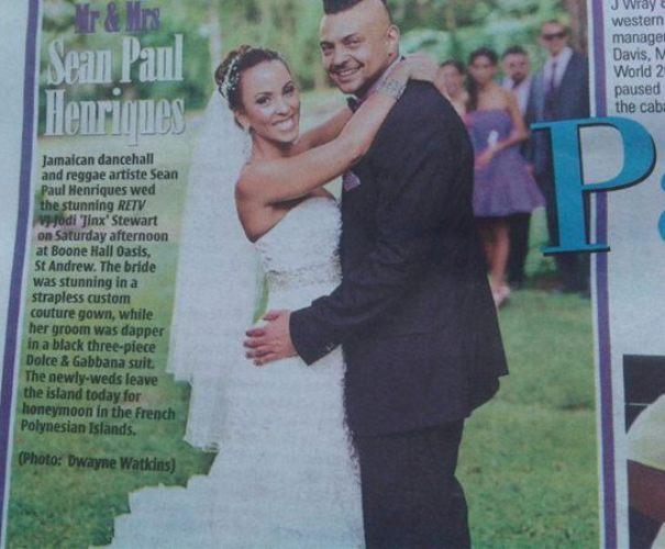 Sean Paul married