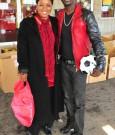 akon and his mother