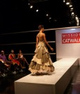 judges take in rebeccas turtle-inspired design on the catwalk