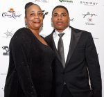 nelly and his mother