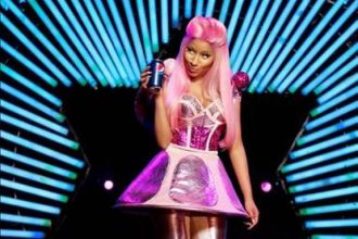 "Nicki Minaj Lives In The ""Moment"" With Pepsi"