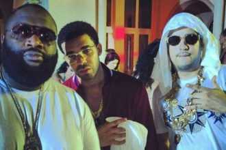 "Drake, Rihanna, French Montana, Rick Ross, Lil Wayne Parties At ""Pop That"" Video Shoot"