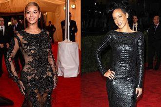 Rihanna, Beyonce Sizzles At MET Gala 2012 [Photo]