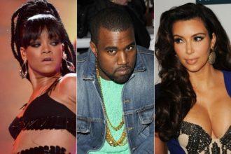 Kim Kardashian Banned Rihanna From Kanye West