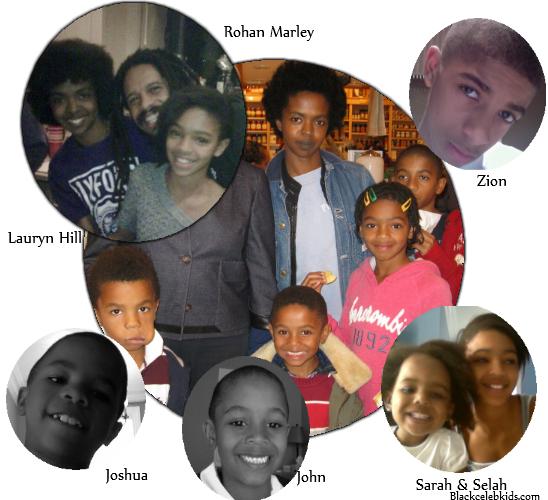 rohan marley kids