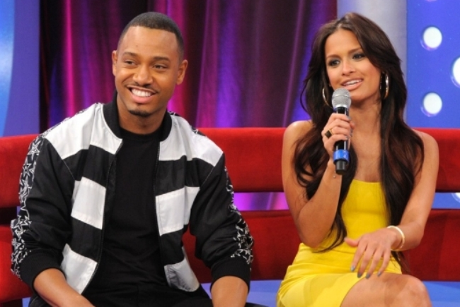 terrence j and rocsi diaz leaving BET 2012