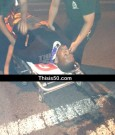 50 cent on stretcher