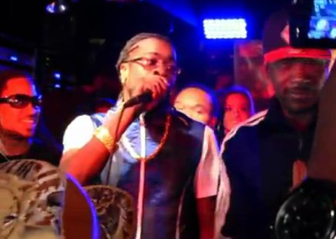 Beenie Man shaggy label launch