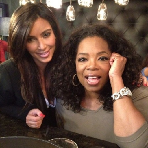 Kim Kardashian Oprah Winfrey