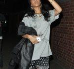 Rihanna going studio london
