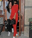 Rihanna red outfit 4