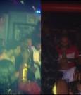 drake and chris brown at club WIP