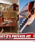 jay-z private jet inside