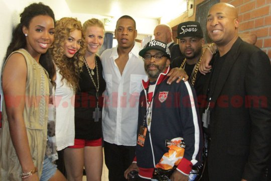 jay-z watch the throne family