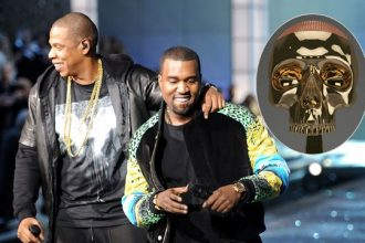 Kanye West Gave Jay-Z A $34K Skull For Fathers Day [Photo]