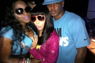 Nicki Minaj, Beenie Man, Foxy Brown, Cam'ron Hit The Club [Photo]