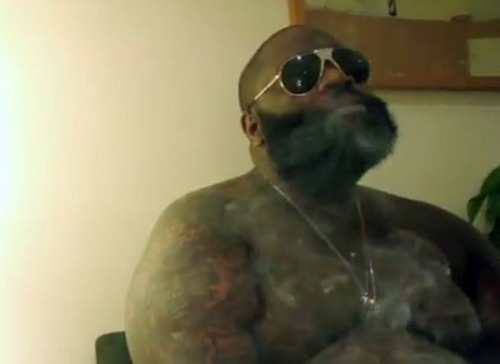 rick ross mirror video