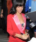 rihanna DG red outfit 1