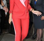 rihanna DG red outfit