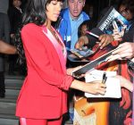 rihanna DG red outfit 3