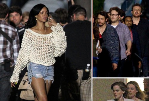"Rihanna Begins Filming ""End Of The World"" Movie [Photo]"