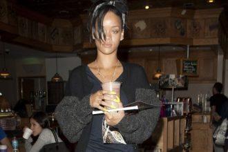 Rihanna Gets Some Late Night Coffee In Santa Monica [Photo]