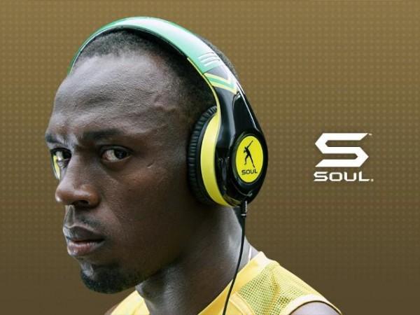 usain bolt headphone 2012