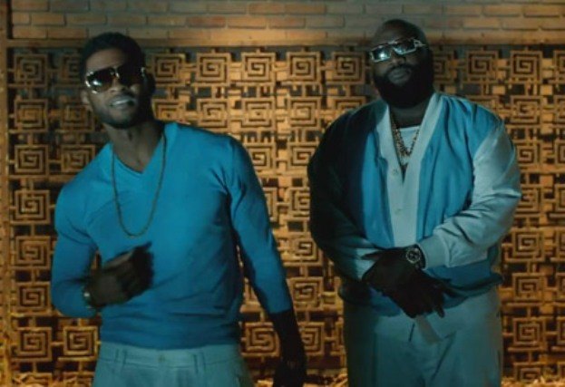 usher and rick ross video