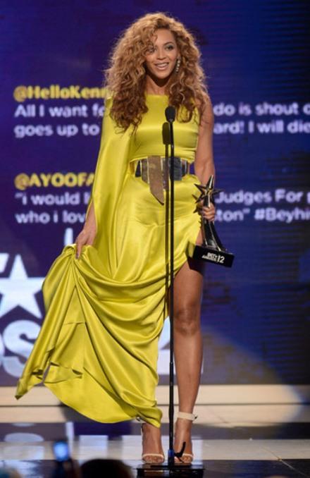 Beyonce BET Awards 2012