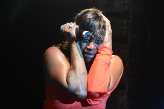 Antwaun Dumps Fantasia, She Broke Down On Stage In Trinidad [Photo]
